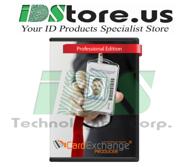 New CardExchange Producer 10 Professional ID Card Software (CP1040)