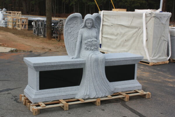 Granite cremation bench max 6 cremation interment standard engraving included