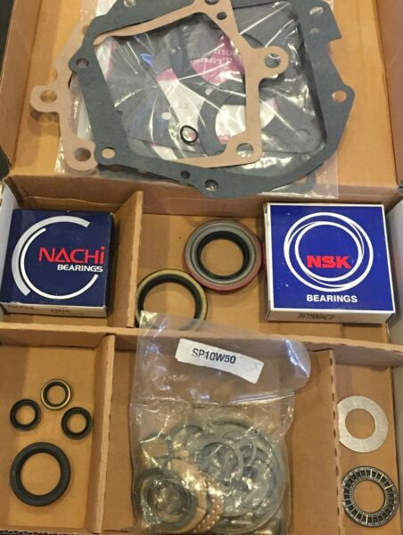 BK185 BEARING KIT FITS *T10* Trans GM Chevrolet 4 speed with Nash OD 1984-88