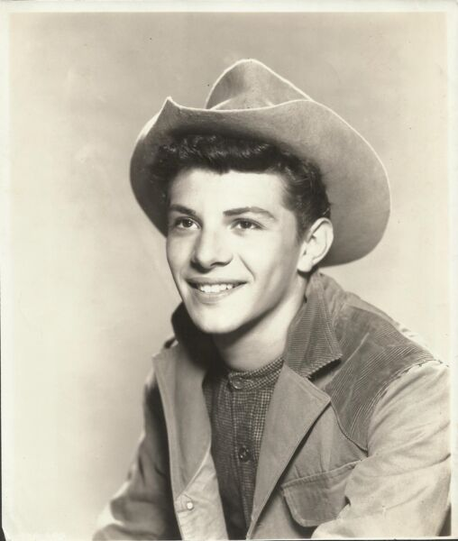 FRANKIE AVALON in quot;Guns of Timberlandquot; Original Youthful Vintage PORTRAIT 1950#x27;s $19.95