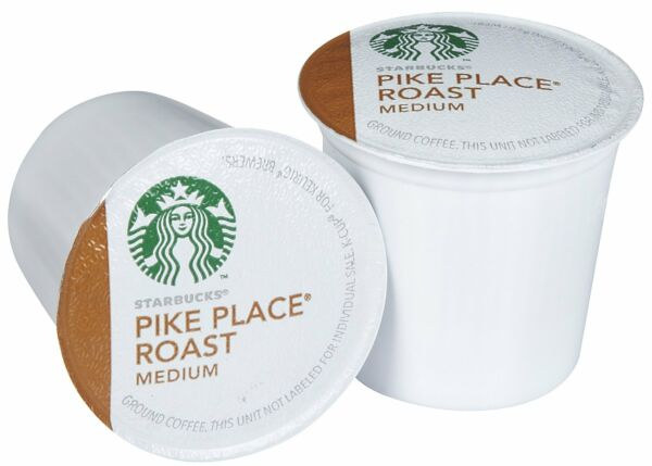 Starbucks Pike Place K-Cups For Keurig Brewers - 96 Count