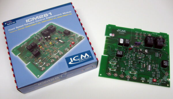 ICM Furnace Speed Control Board ICM281 for Carrier CES0110057 01 CES0110057 02 $91.50
