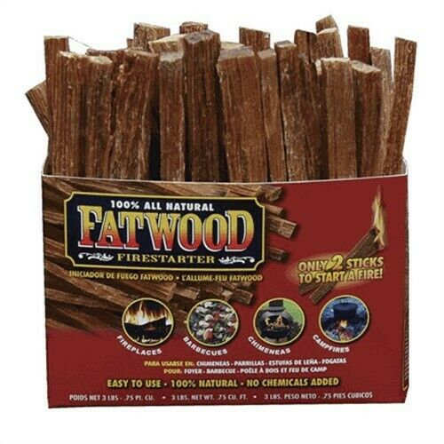 Fatwood FirestarterNo 9985 Wood Products Manufacturers