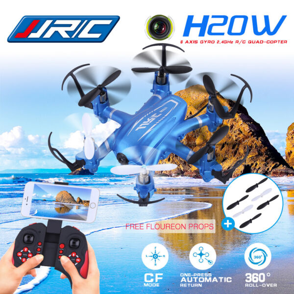 2.4GHz 4CH 6-Axis Gyro RC Quadcopter Drone With 2.0MP HD Camera Helicopter US