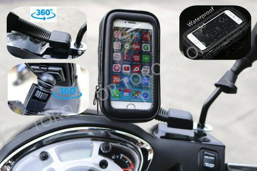 Motorcycle Bike Mobile Phone Note Holder Iphone Samsung Nokia Sony Huawei One GBP 11.50