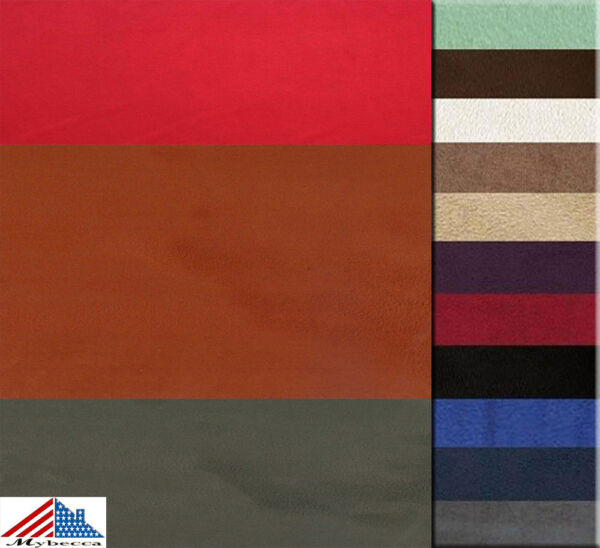 MICROSUEDE Faux Suede Fashion Fabric Upholstery 58quot; 60quot; Wide By the Yard
