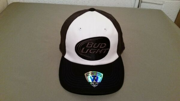new bud light one fit baseball cap.  retail price  27.99