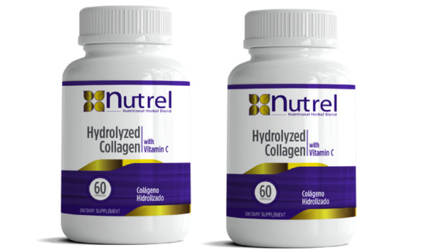 2 Hydrolized Collagen + Vitamin C (120) CAPS hidrolizado,hydrolyzed,colageno