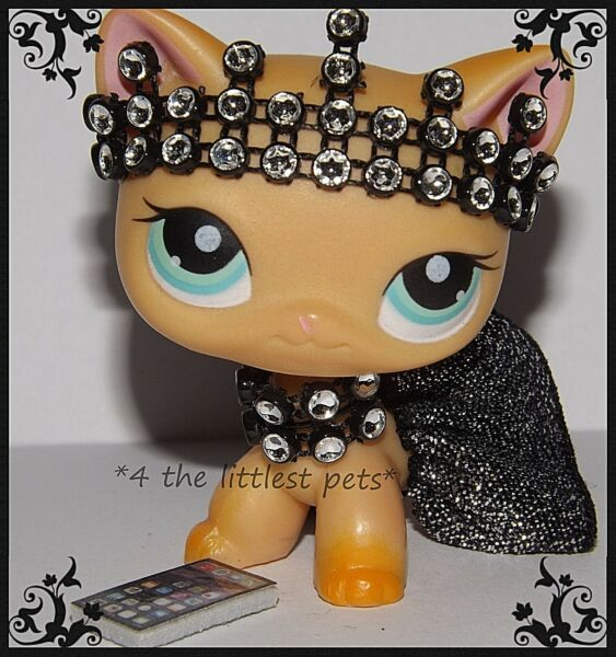 💞Littlest Pet Shop LPS clothes accessories CUSTOM SKIRT BOW *CAT NOT INCLUDED💖