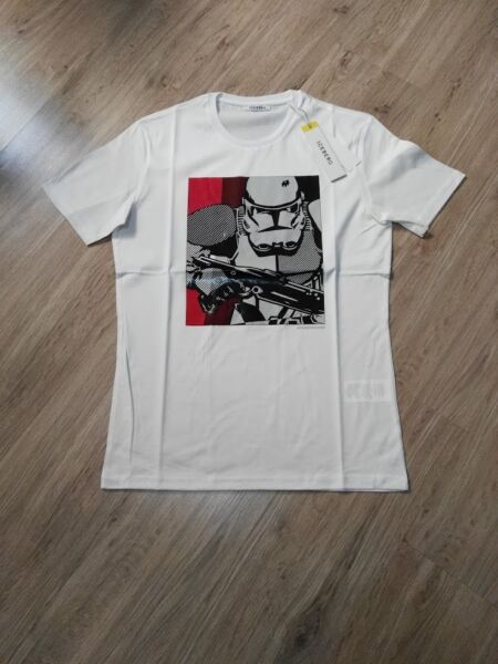 Iceberg Men Star Wars Print Mercerized Cotton T shirt *CLEARANCE* $40.00