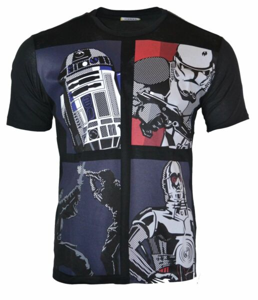 ICEBERG STAR WARS PRINT Mercerized Cotton T SHIRT *REFURBISHED* $34.99