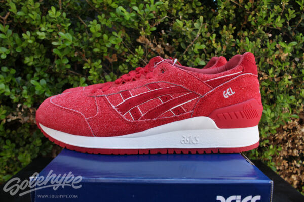 ASICS GEL RESPECTOR SZ 11 4TH OF JULY INDEPENDENCE PACK RED WHITE H6U3L 2525