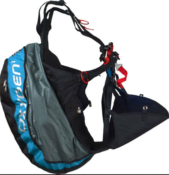 Ozone Oxygen Light Weight Reversible Paraglider Harness for Kiting amp; Flying Med