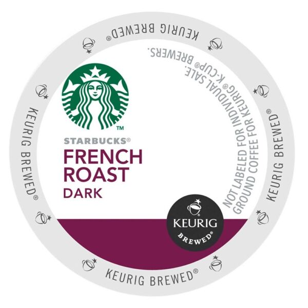 Starbucks French Roast K-Cups For Keurig Brewers - 96 Count Pack - NEW