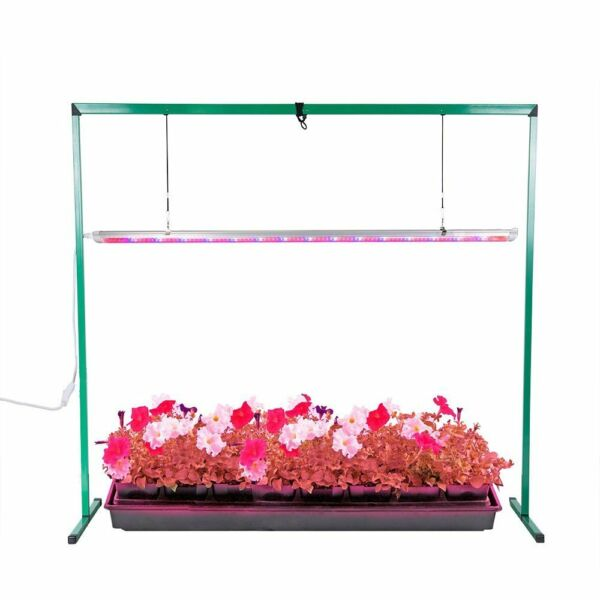 iPower Full Spectrum 4 Feet 36W LED Grow Light Stand for Indoor Seeding Plant