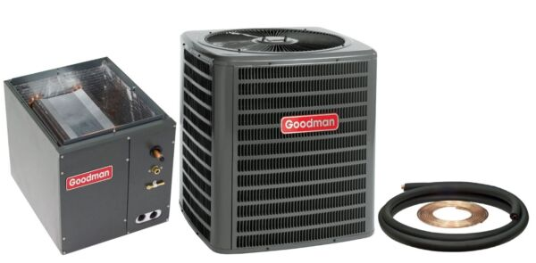 New Goodman 2 Ton 13 Seer Central Air AC Add On GSX130241 + Coil