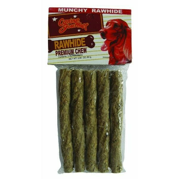 Munchy Dog Rawhide ChewNo 3175 Westminster Pet Products 3PK $12.09