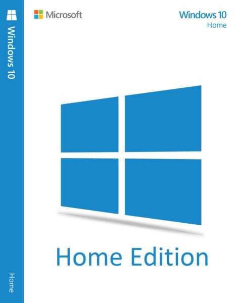 Windows 10 Home 32/64 Bit Product KEY OEM codice licenza License Full 2016