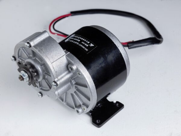 250W 24V DC electric Reversible motor f bicycle bike GoKart ZY1016z3 gear reduct