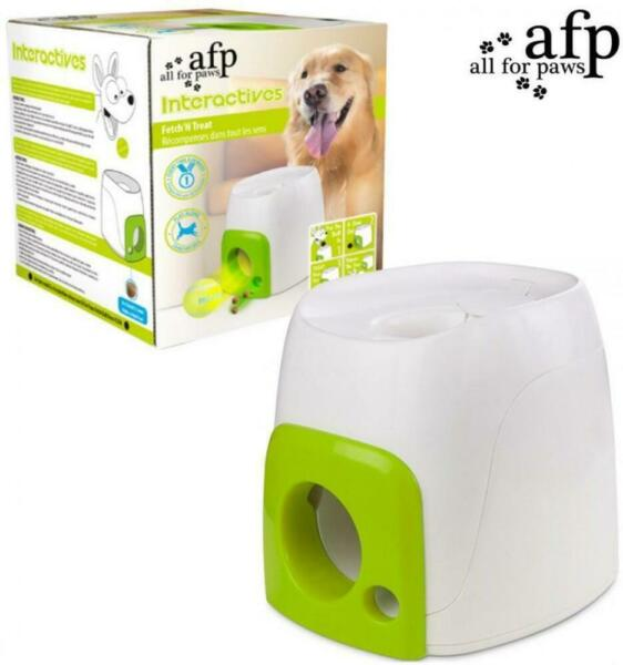 AFP Interactive Fetch-N-Treat Dog Toy Automatic Fetch Toy Puzzle