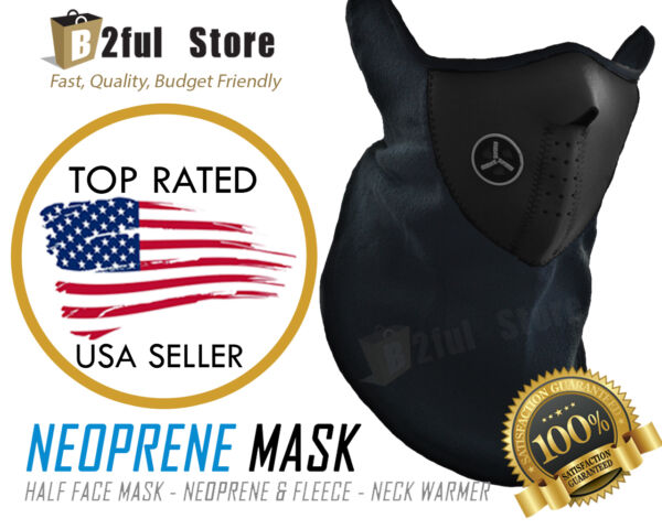 New Winter Sport Face Mask Neck Warmer Warm Ski Snowboard Motorcycle Bike lot