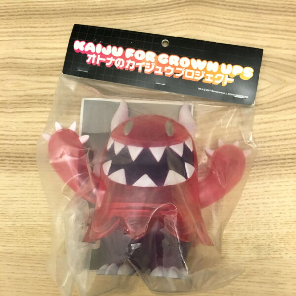 KFGU Kaiju For Grown Ups Pink Gabulin by Touma Vinyl Toy Figure Ed 200