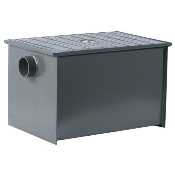 Dormont WD-15 Grease Trap Interceptor 15gal Flow Rate 30lb Grease Capacity
