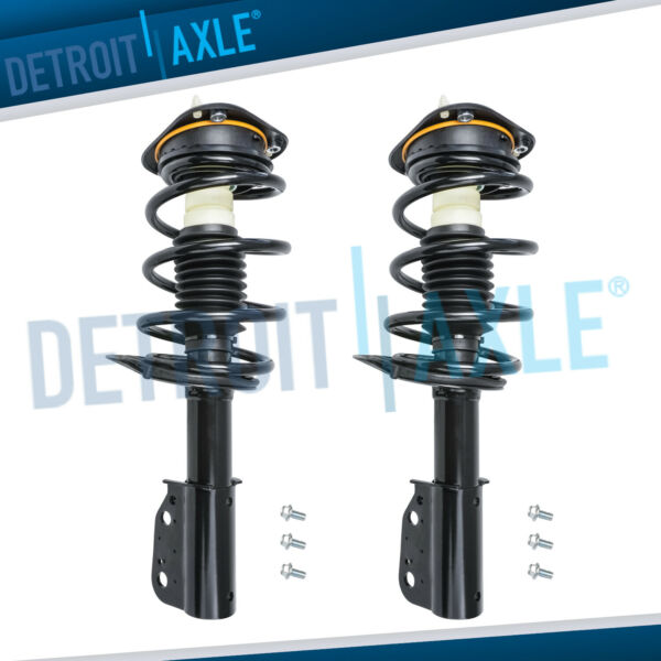 Pair Front Struts w/ Spring 2006-2008 2009 2010 2011 Cadillac DTS Buick Lucerne