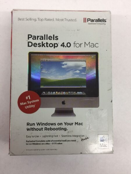 Parallels Desktop 4.0 (for Mac) #1 Mac System Utility, Run Windows On Your Mac