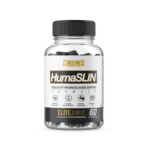* HUMASLIN by Condemned Labz * 60 Capsules CARBOHYDRATE DIGESTION $24.49