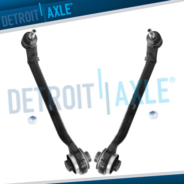 Both (2) Front Lower Control Arms w/ Ball Joints for 2011-2016 Dodge Charger 2WD