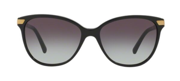 NWT Burberry Sunglasses BE 4216 3001 8G Black Gray Gradient 57 mm 30018G NIB $105.99