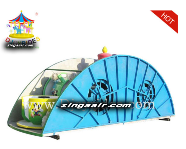 Mobile Amusment Theme Park Rides Carnival 12-24 Person Kiddie Thrill We Finance