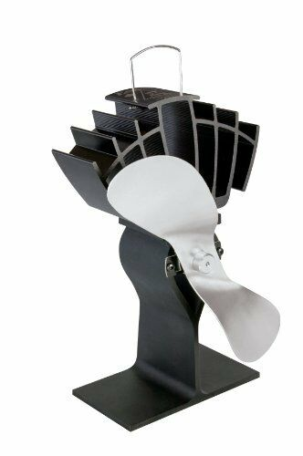 Caframo Limited Ecofan Ultrair Black with Nickel Blade