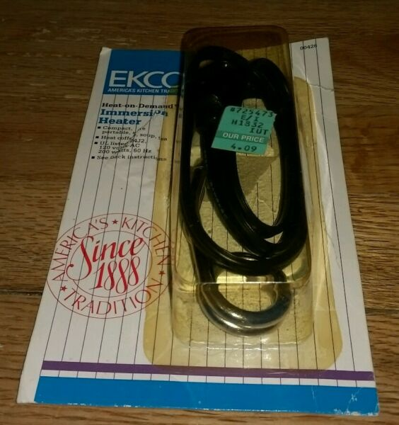 Vintage Ekco brand Heat-On-Demand immersion heater Heat Coffee Soup Tea Kitchen