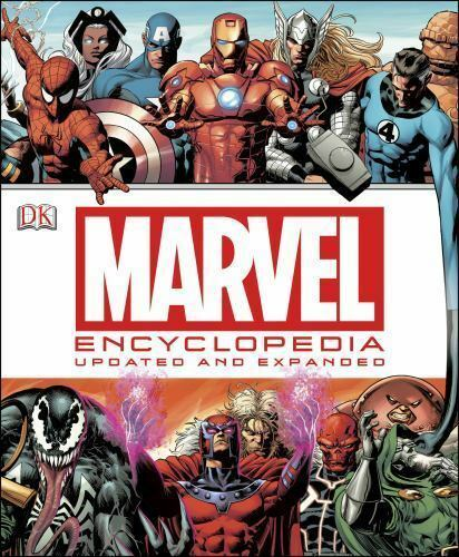 Marvel Encyclopedia Updated & Expanded...New Hardcover...60% discount shelfwear