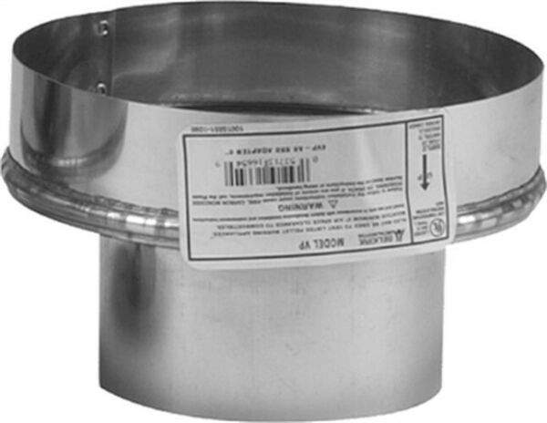 Adapter Chimney Pellet 3x8in Pack of 2 PartNo 243826 by Selkirk Corp $90.76