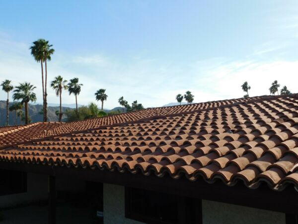 Historical Roof Tiles from the El Mirador Hotel