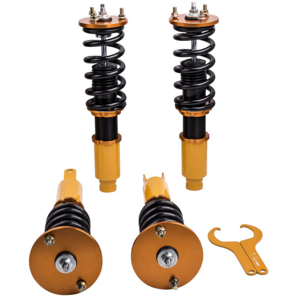 Full Set Coilovers Suspension Kit For Honda Accord 90-97 Shock Absorbers Struts