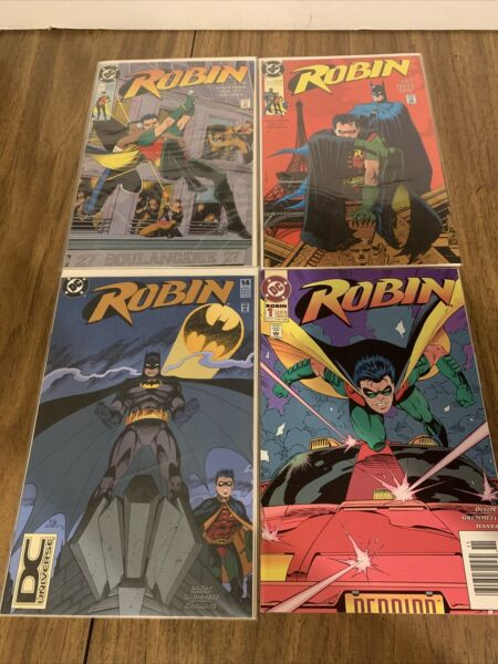 Robin (1993) #14 embossed (1991 Limited) #1 2 VFNM lot