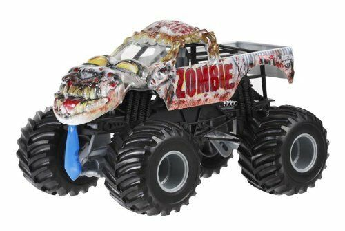 Kids Toys Hot Wheels Truck Monster Jam Zombie Diecast Car Vehicle 1:24 Xmas Gift