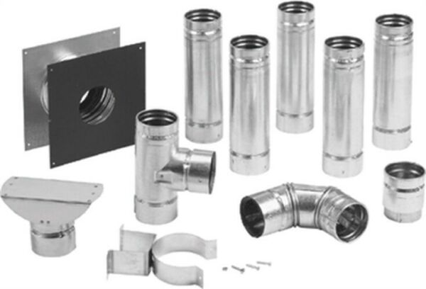 Through The Wall Pellet Pipe KitNo 283870 Selkirk Corp $307.86