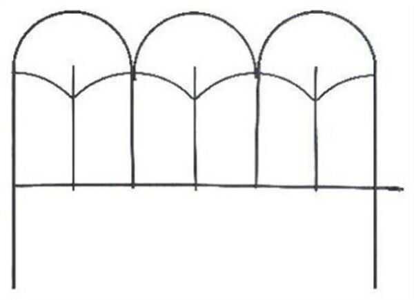 14x18 BLK GDN Edge by Panacea Products Corp-Import