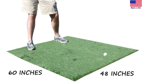 4 Ft x 5 Ft Golf Chipping Driving Range Commercial Fairway Rough Practice Mat $69.99