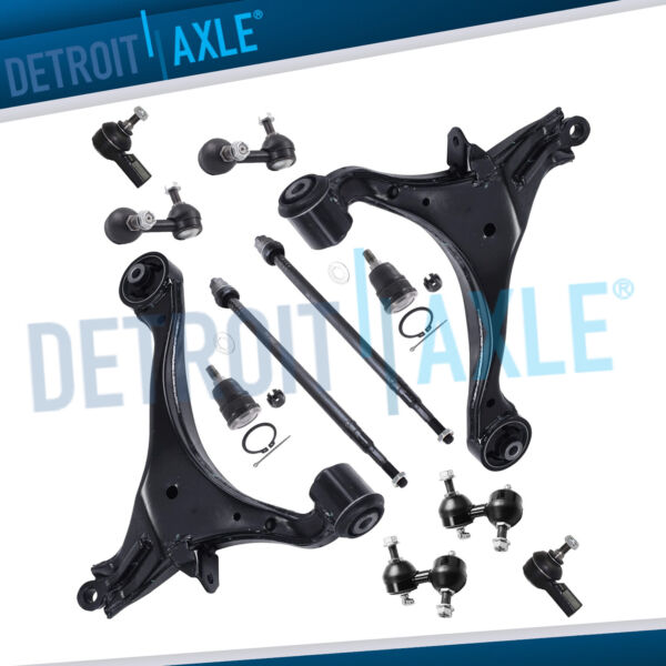 12pc Front and Rear Suspension Kit for 2001 2002 2003 2005 Honda Civic Acura El $114.20