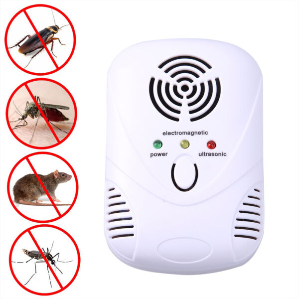 Electronic Ultrasonic Mouse Killer Cockroach Trap Repeller Insect Rats Control