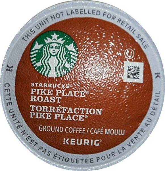 Starbucks Pike Place Roast Torrefaction K-Cups 96 Count (Packaging May Vary)
