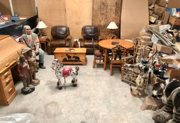 COWBOY INDIAN WESTERN MOLESWORTH STYLE FURNITURE 23 PIECE COLLECTION BEAUTIFUL!