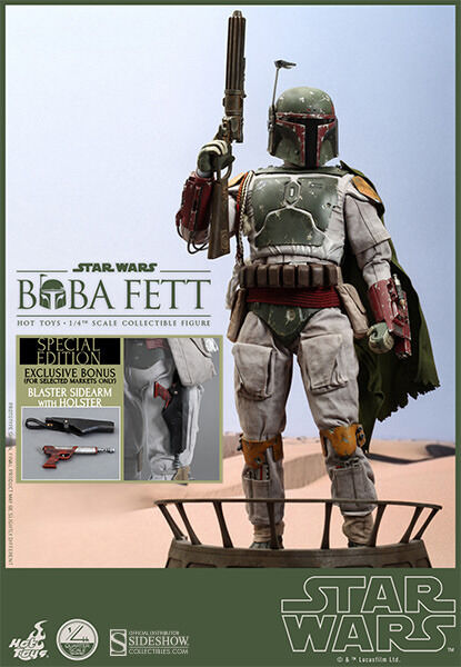 HOT TOYS Star Wars EPVI ROTJ 14 BOBA FETT Special Edition SIDESHOW Exclusive