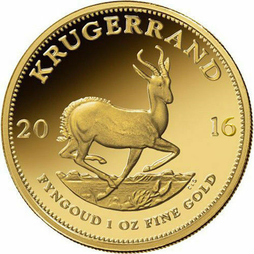 1 oz South African Gold Krugerrand (Varied Year)